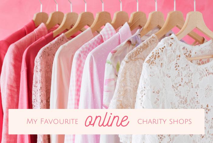 online charity shops