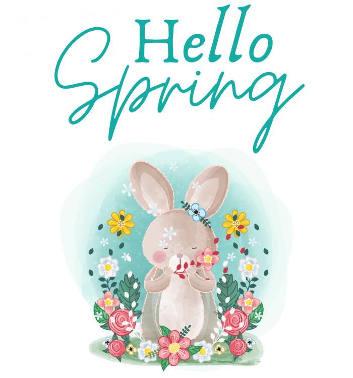 Free Printable Spring Wall Art