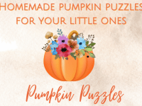 Homemade Halloween Puzzles for your little ones...