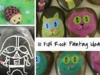 10 Rock Painting Ideas...