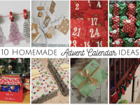 10 Homemade Advent Calendar Ideas....