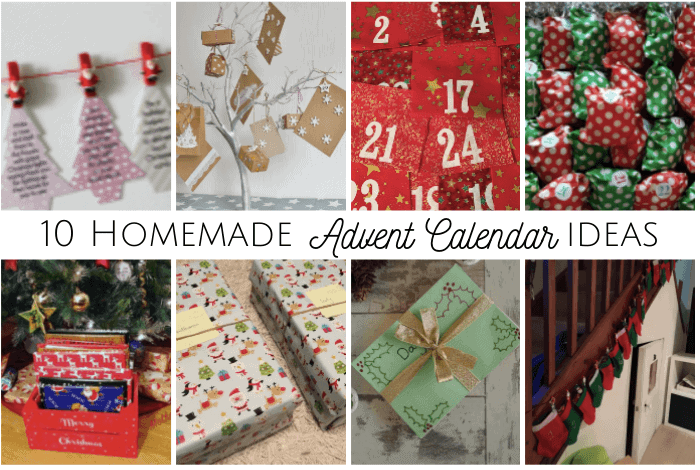 Homemade Advent Calendar ideas
