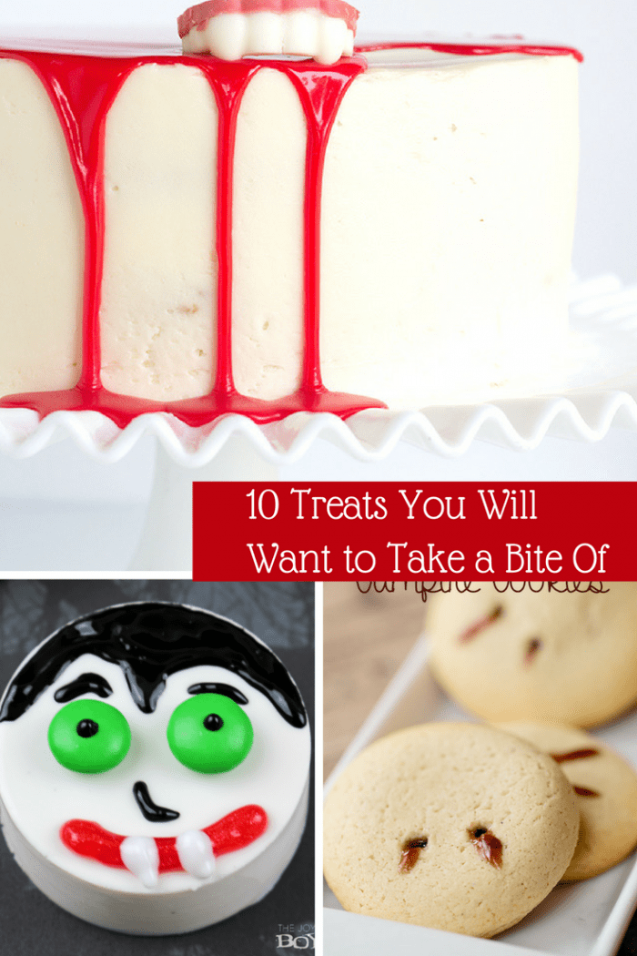 10 Treats You Will Want to Take a Bite Of. Great Halloween treats to get the kids cooking.
