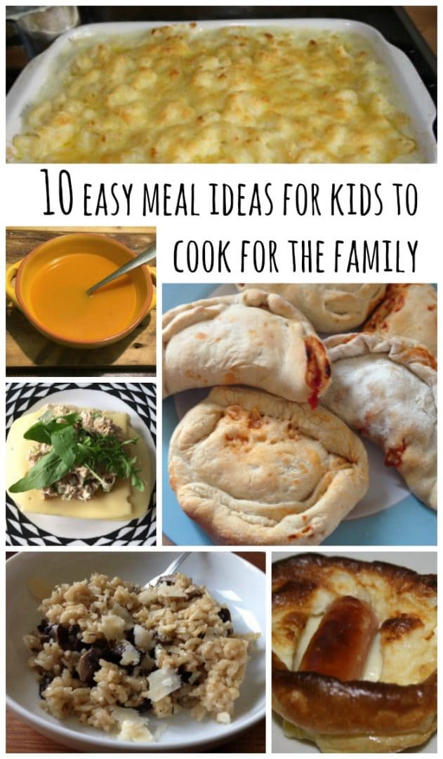 Kids Dinner Recipes. 10 Easy Dinners Kids Can Help Make. Caroline Stanko March 31, Kick-start your kids' love of cooking with these simple but fun recipes they can help make, from healthy salads to fun pizzas. 1 / Meals With Some Assembly Required.