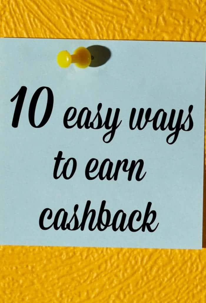 10 easy ways to earn cashback