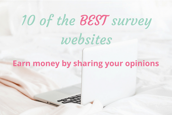 10 sites to help you earn money from surveys....