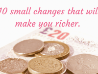 10 actionable changes to make right now to save money....