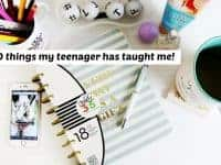 Ten things I've learned from my teenage daughter....