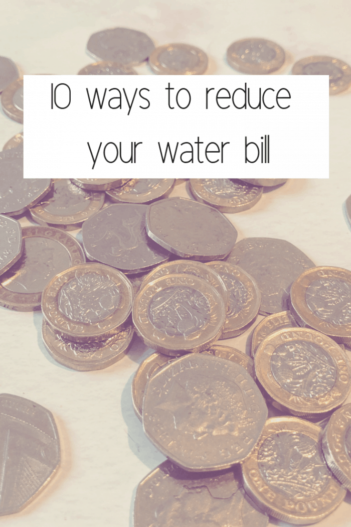 10 ways to reduce your water bill.