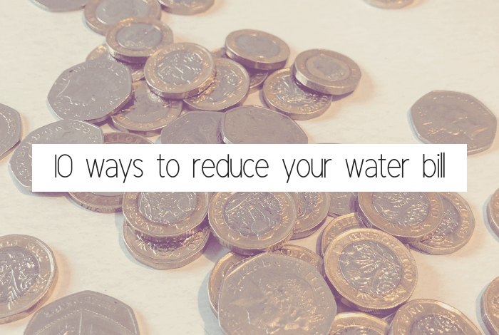 10 ways to reduce  your water bill!