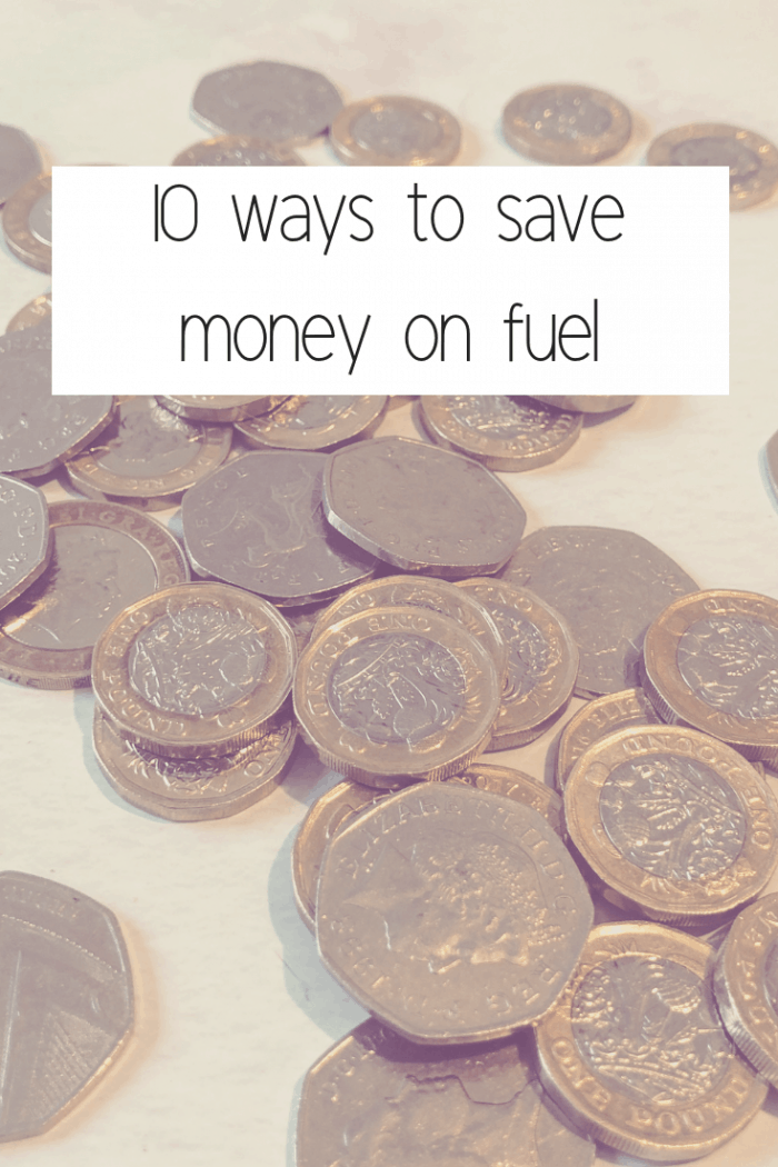 10 ways to save money on fuel.