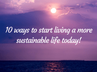 10 Easy Ways to Start Living a Sustainable Life Today!