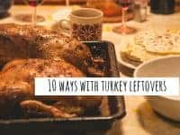 Ten ways with Turkey leftovers....