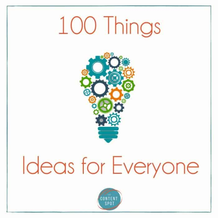 100 ideas for ways to spend time with your family