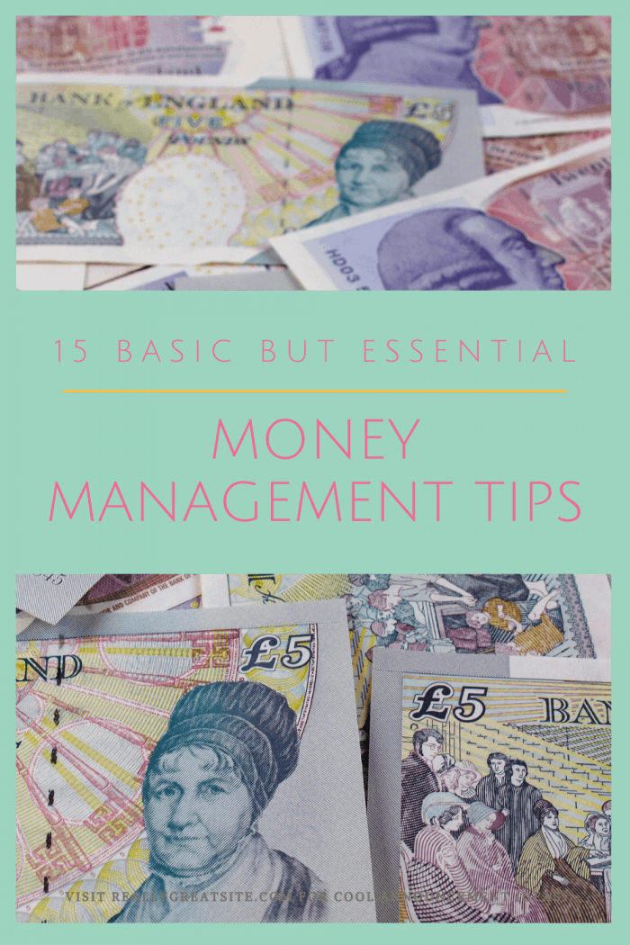 Basic Money Management Tips