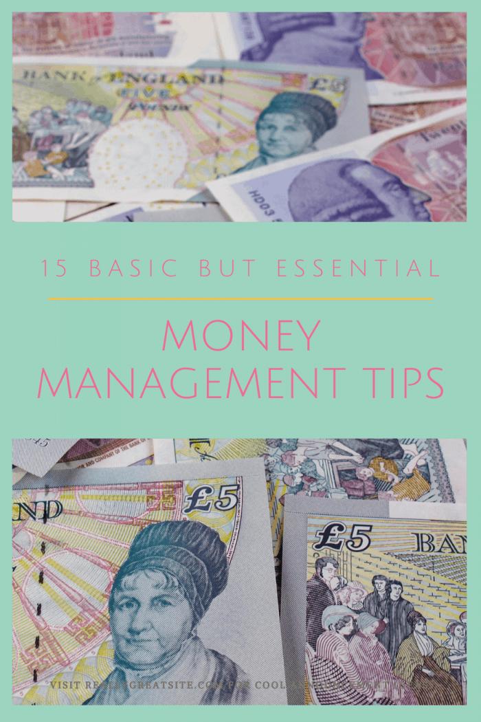 Basic Money Management Tips