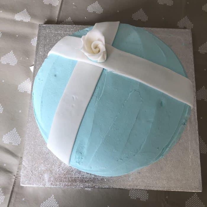 Homemade Tiffany cake