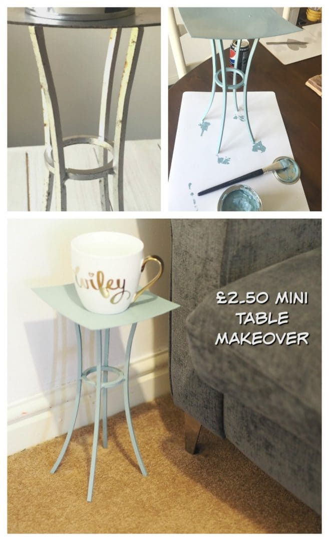 Upcycling a candle stand