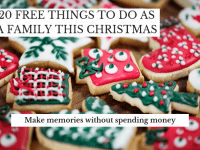 20 Free things to do together at Christmas....