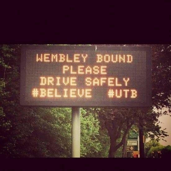 Wembley bound