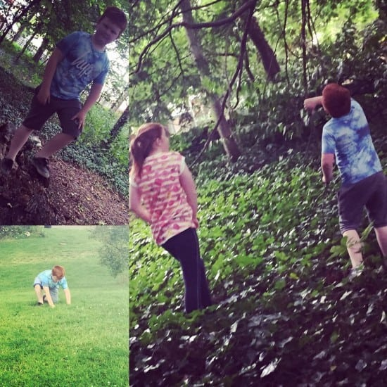 Afternoon in the woods #summer #fun
