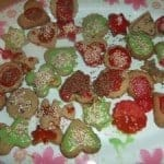 Christmas Spice Biscuits….