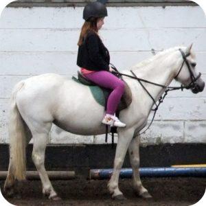 Bethan horse riding