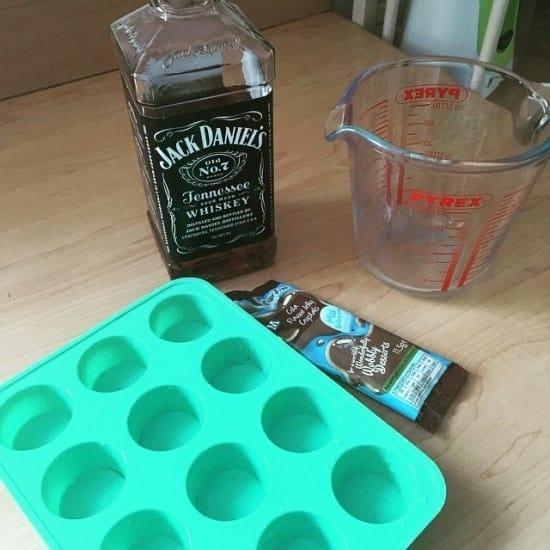 Jack Daniels and coke Jell-O shots!