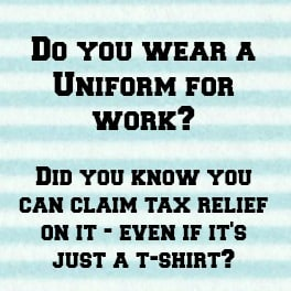 Urgent Money Saving – Do you wear a uniform for work….