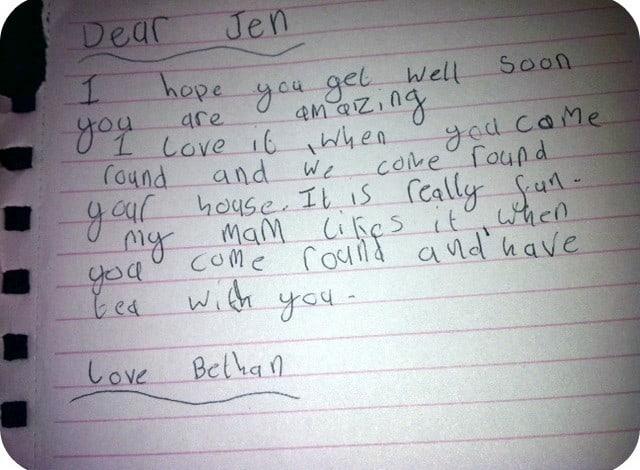 Dear Jen….