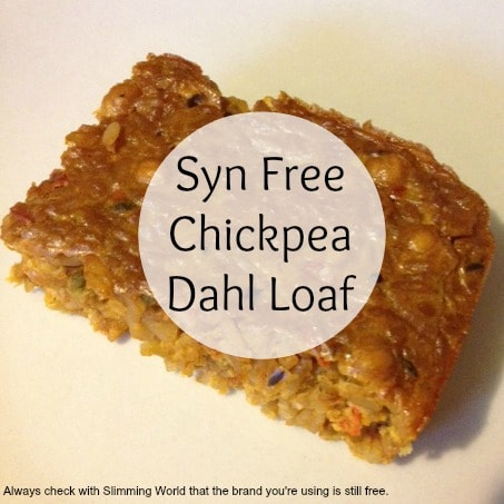 Syn Free chickpea dahl (slimming world)
