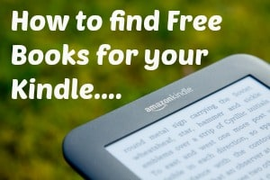 How to find free books for your kindle