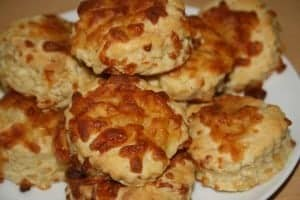 super easy cheese scone recipe