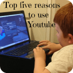 My top five favourite reasons to use Youtube….