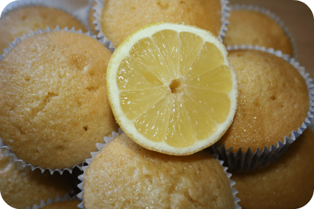 lemon muffins again