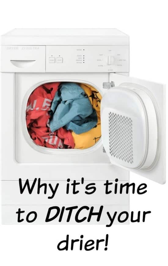 Why it's time to DITCH your drier!