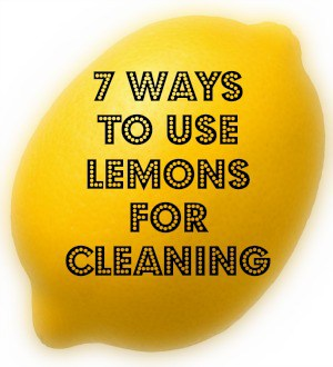 thrifty cleaning - ways to use lemons to clean