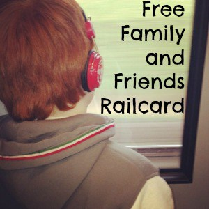 free family and friends railcard