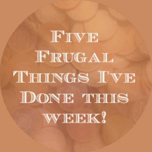 5 frugal things