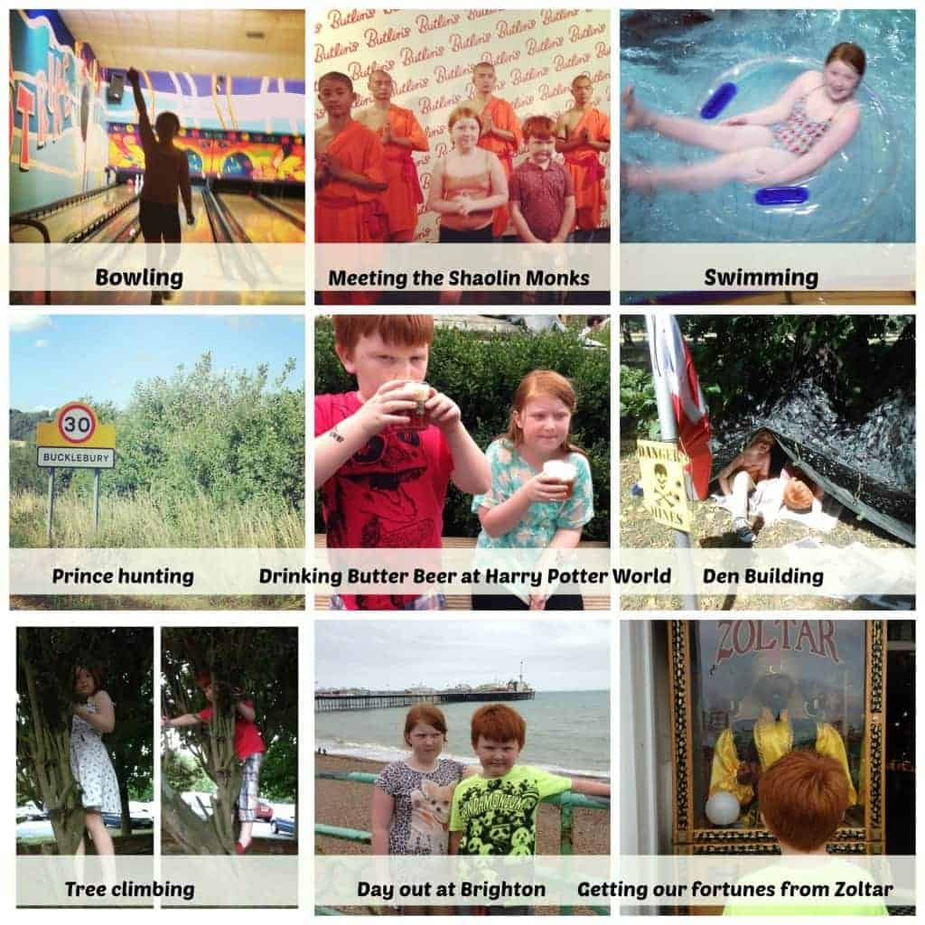 Week 2 Summer holidays
