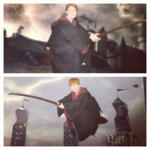 flying at Harry potter world