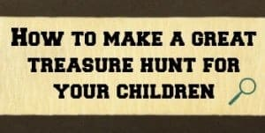 treasure hunt tips