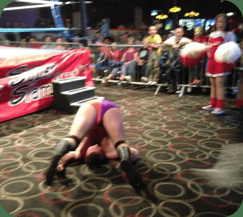 wrestlers bum