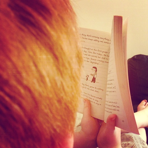 7. Reading - whether it's a good old fashioned book or a Kindle.