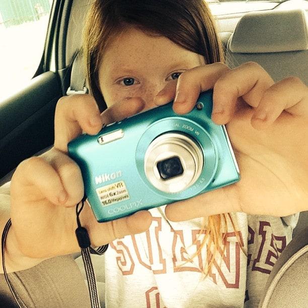 selfie in the car