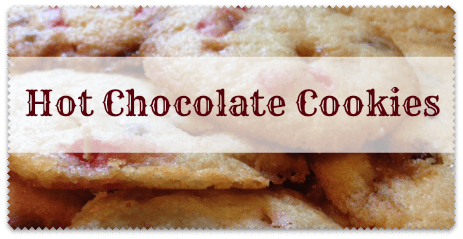 a hot chocolate cookies