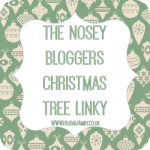 It's back – the nosey bloggers Christmas tree linky….