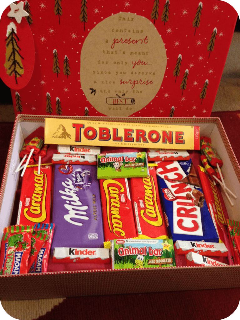 homemade sweet hamper