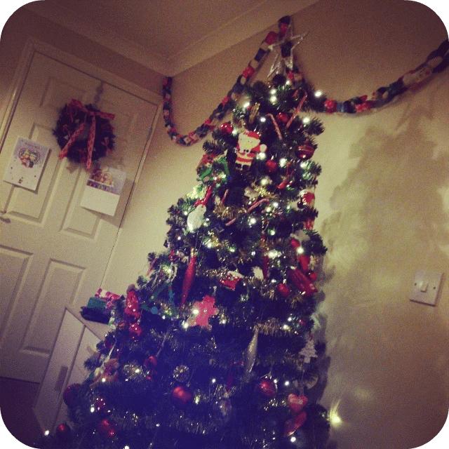 We love decorating the tree together although I often have a quick rearrange when everyone's in bed!