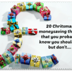 20 Christmas moneysaving ideas that you probably know you should be doing but don't….